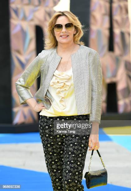 Kim Cattrall attends the Royal Academy of Arts Summer Exhibition Preview Party at Burlington House on June 6 2018 in London England