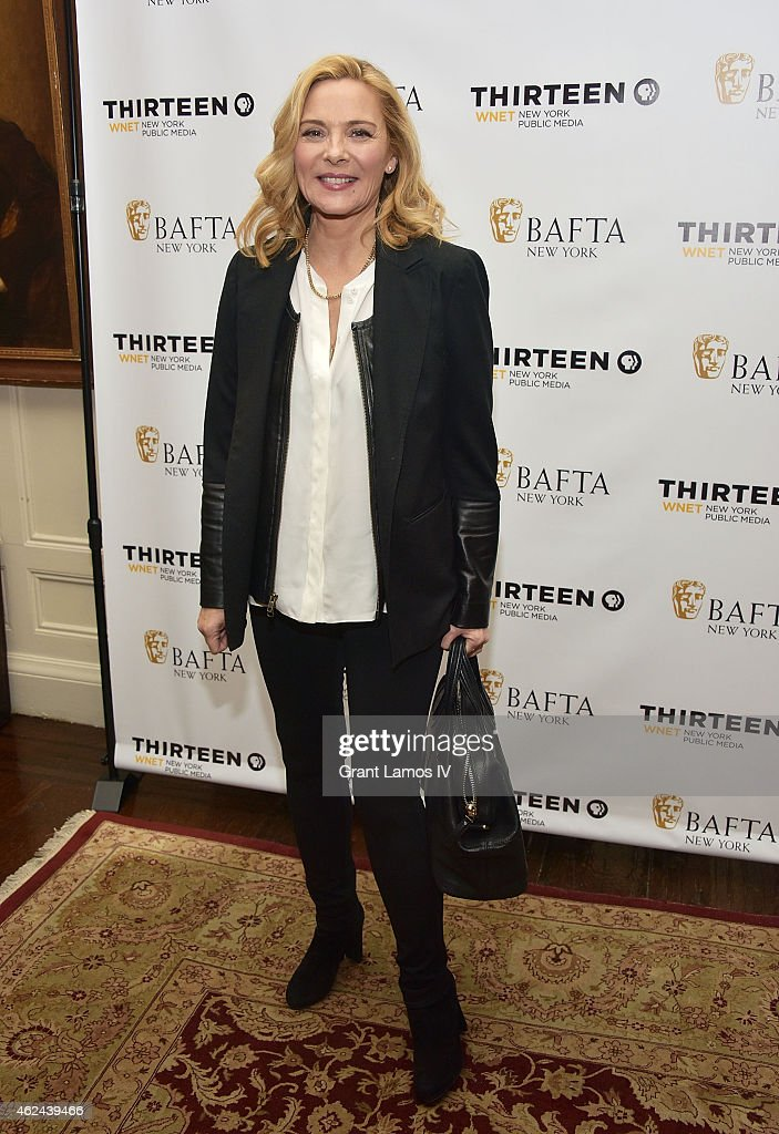Kim Cattrall attends the 'Shakespeare Uncovered' premiere at The Players Club on January 28, 2015 in New York City.