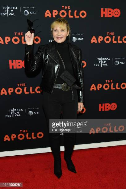 Kim Cattrall attends the The Apollo screening during the 2019 Tribeca Film Festival at The Apollo Theater on April 24 2019 in New York City