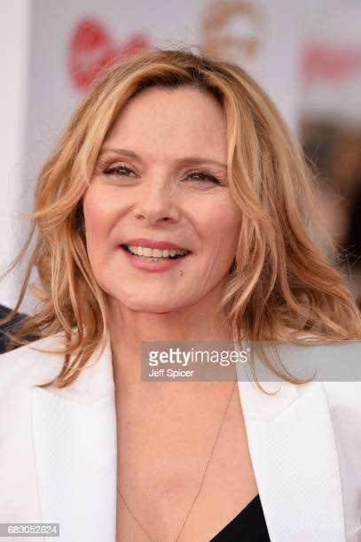 Kim Cattrall attends the Virgin TV BAFTA Television Awards at The Royal Festival Hall on May 14 2017 in London England