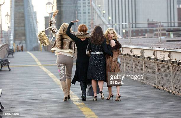 Kim Cattrall Cynthia Nixon Kristin Davis and Sarah Jessica Parker