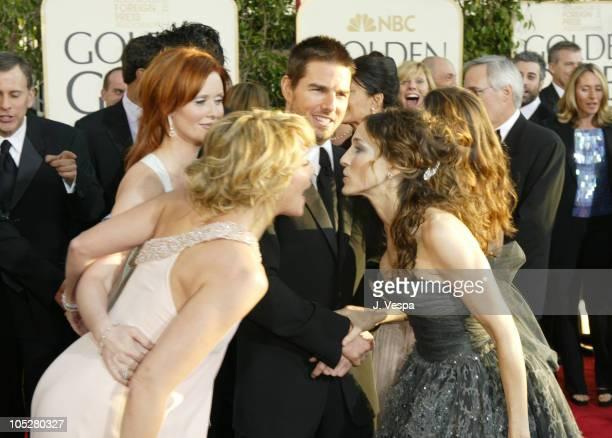 Kim Cattrall Cynthia Nixon Tom Cruise and Sarah Jessica Parker