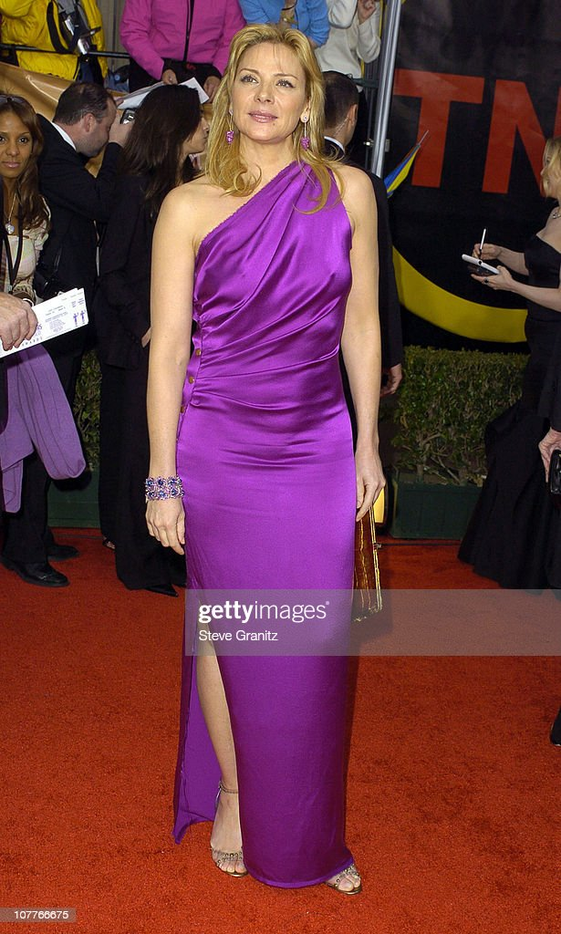 Kim Cattrall during 10th Annual Screen Actors Guild Awards - Arrivals at Shrine Auditorium in Los Angeles, California, United States.