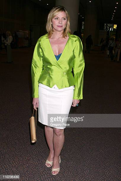 Kim Cattrall during 2005 BookExpo America - Day One at Jacob Javits Center in New York City, New York, United States.