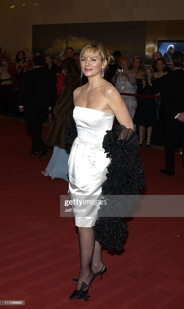 Kim Cattrall during 26th Annual Kennedy Center Honors at John F Kennedy Center for the Performing Arts in Washington, DC, United States.