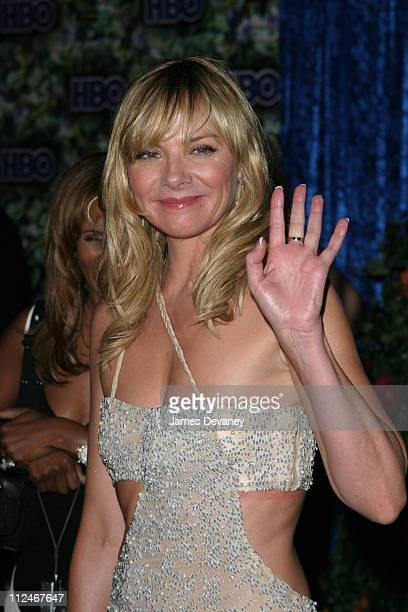 Kim Cattrall during 55th Annual Primetime Emmy Awards HBO After Party Arrivals at Pacific Design Center in Los Angeles California United States