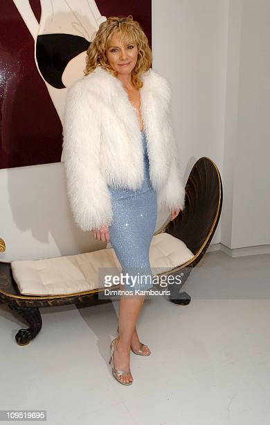Kim Cattrall during Alberto Sabbadini and Stefania Sabbadini Celebrate the Opening of an Extraordinary Jewelry Exhibition 'Fabulous Flowers' at...
