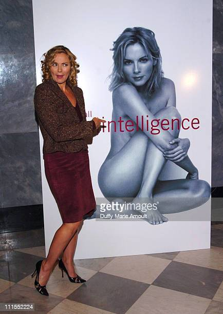 """Kim Cattrall during Kim Cattrall Celebrates Screening of Her HBO Documentary and Upcoming Book """"Sexual Intelligence"""" - October 18, 2005 at Museum of..."""