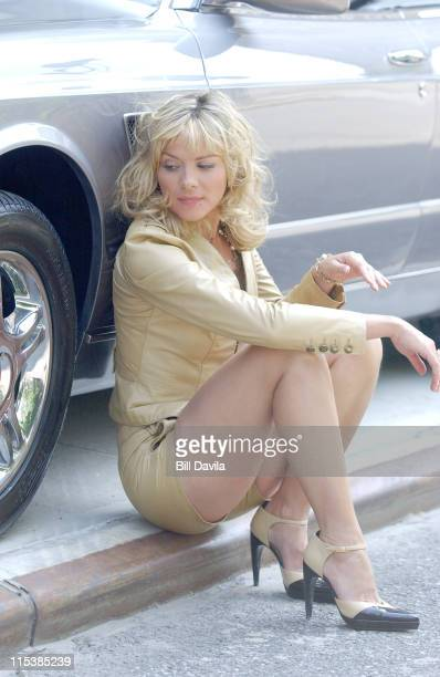 Kim Cattrall during Kim Cattrall Photo Shoot For Bentley Cars at New York City in New York City New York United States