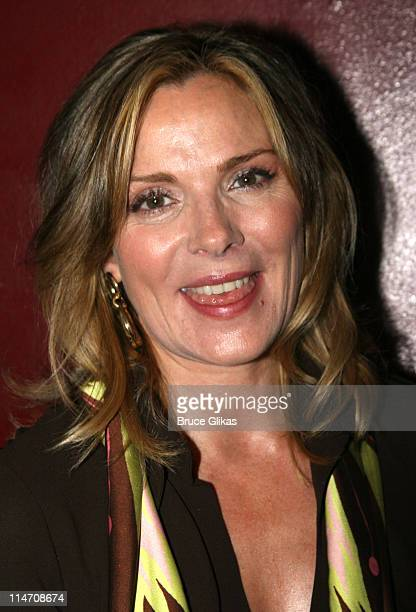 Kim Cattrall during Opening Night for Neil LaBute's 'Some Girl' Off Broadway at The Lortel Theater/Robert Miller Gallery NYC in New York City New...