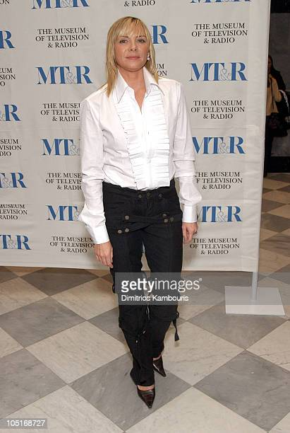 Kim Cattrall during 'Sex and the City ' Seminar at The Museum of Television and Radio in New York City New York United States