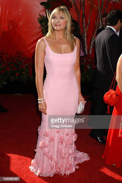 Kim Cattrall during The 56th Annual Primetime Emmy Awards Arrivals at The Shrine Auditorium in Los Angeles California United States