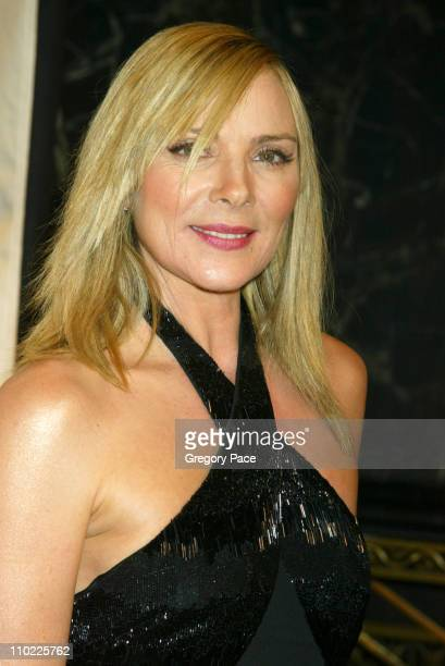 Kim Cattrall during The Accessories Council Presents the 8th Annual Ace Awards at Cipriani 42nd Street in New York City New York United States