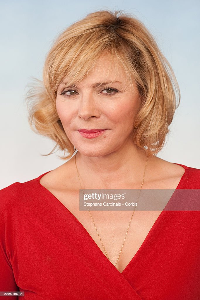 Kim Cattrall poses during the photocall for movie 'Meet Monica Velour' at the 36th American Film Festival in Deauville.