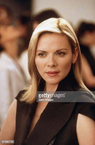 Kim Cattrall Stars In The Comedy Series 'Sex And The City' Now In Its Third Season