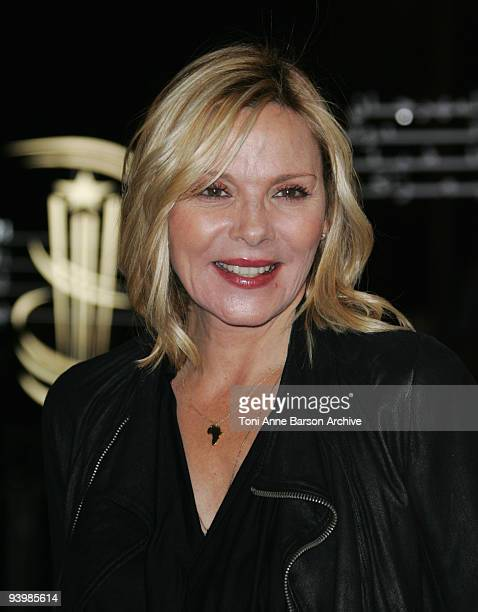 Kim Cattrall ttends the John Rabe premiere at the 9th Marrakesh Film Festival at the Palais des Congres on December 4, 2009 in Marrakech, Morocco.