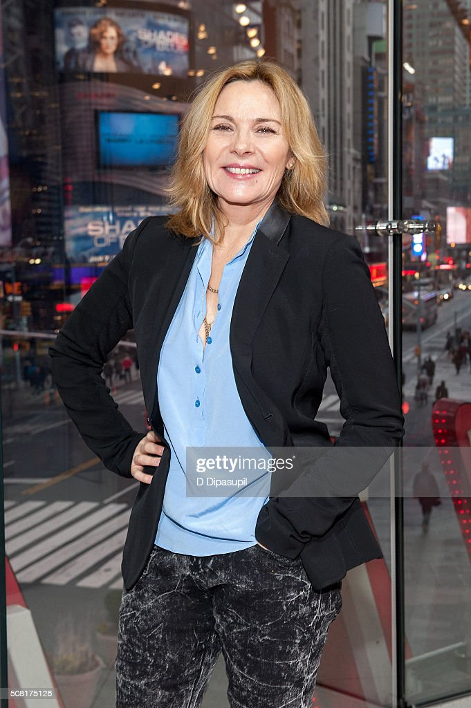 "Kim Cattrall Visits ""Extra"""