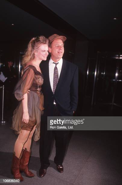 Kim Cermack and Art Garfunkel during Kim Cermack and Art Garfunkel sighting at the Museum of Modern Art for the 21 Premiere December 10 1991 at...