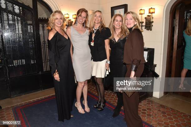 Kim Charlton Martha McGuennis Bonnie Pfeifer Evans Tara Little and Mary Judelson attend the Empower Africa 2018 Gala at Explorers Club on April 19...