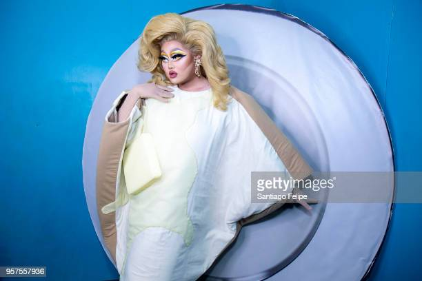 Kim Chi attends the 4th Annual RuPaul's DragCon at Los Angeles Convention Center on May 11 2018 in Los Angeles California