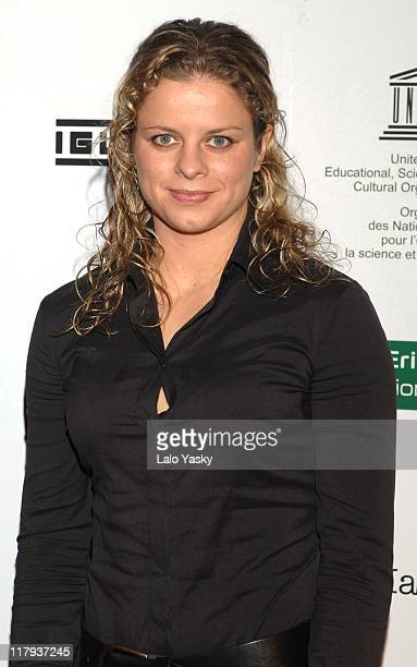 Kim Clijsters during 2006 Sony Ericsson Championships Official Party at MOMA Club in Madrid Spain