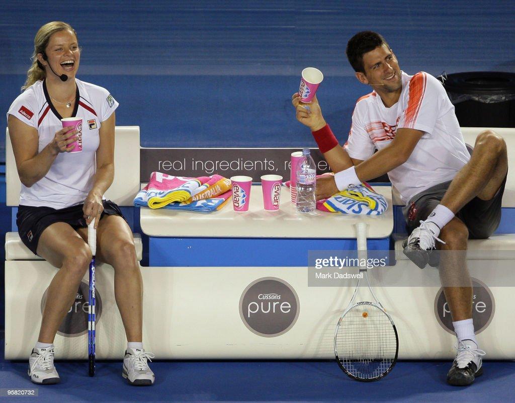 "2010 Australian Open - ""Hit For Haiti"""