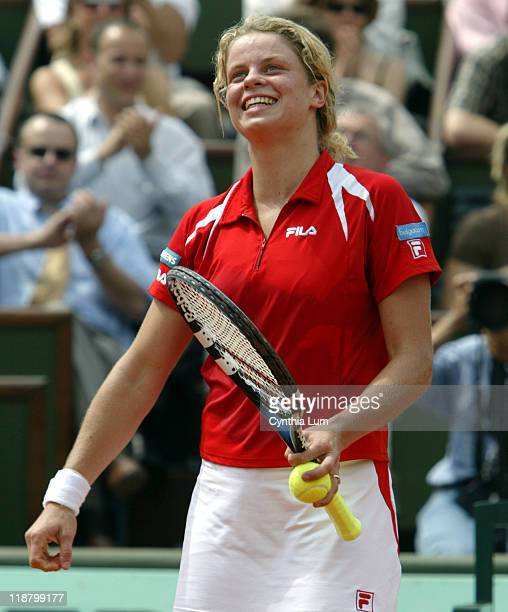 Kim Clijsters with semifinal victory over Nadia Petrova