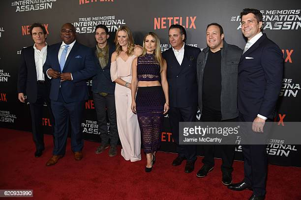 Kim Coates Leonard Earl Howze Maurice Compte Lauren Shaw Zulay Henao Andy Garcia Kevin James and Jeff Wadlow attend 'True Memoirs Of An International...