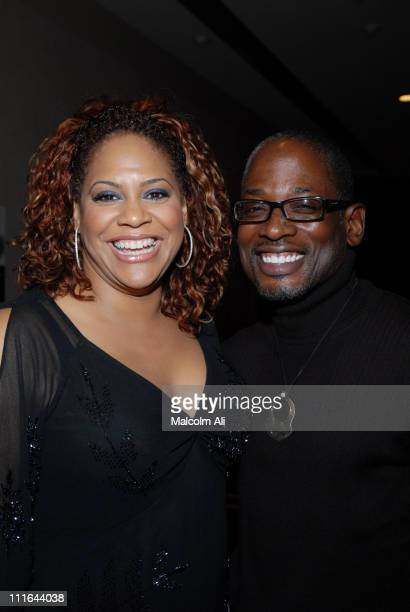 Kim Coles and TCCarson during Read To Succeed Literacy Gala at Renaissance Hollywood Hotel in Hollywood California United States