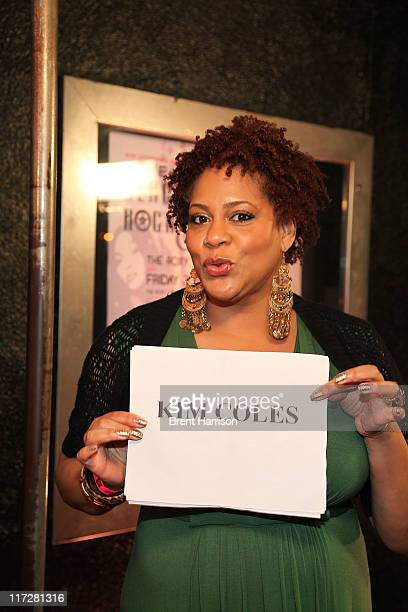 Kim Coles arrives at the 1st Annual Black Girls Rock Soul Tour LA Jam Session Kickoff at The Roxy Theatre on June 24 2011 in West Hollywood California