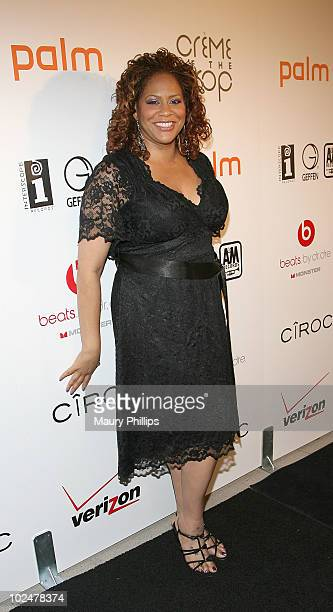 Kim Coles arrives at The 4th Annual 'Creme Of The Crop' Post BET Awards Dinner Celebration at Mr Chow on June 27 2010 in Beverly Hills California