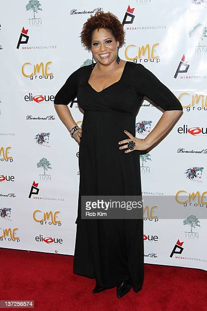 Kim Coles attends Inspired In New York at Tian at the Riverbank on January 17 2012 in New York City