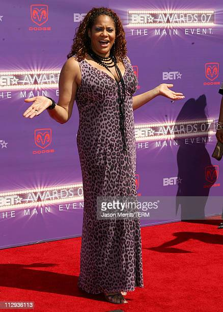 Kim Coles during BET Awards 2007 Arrivals at Shrine Auditorium in Los Angeles California United States