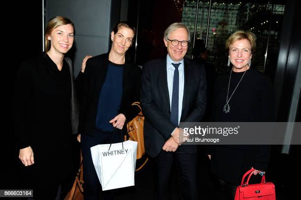 Kim Conaty Amy Roth David Thurm and Fern Tessler attend the IFPDA Fine Art Print Fair Opening Preview at The Jacob K Javits Convention Center on...