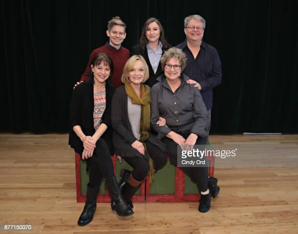 Kim Crosby Cathy Rigby Pamela Myers Andrew KeenanBolger Maria Ciampi and Charles Eversole participate in Kris Kringle The Musical preview...