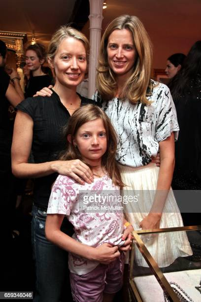 Kim Cutter and Amanda Brooks attend FENTON/FALLON Store Opening Hosted By Dana Lorenz and Shalom Harlow at Fenton Fallon on September 8 2009 in New...