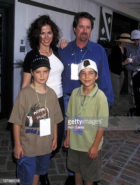 Kim Delaney and son Jack Cortese Alan Barnette and son Cameron Barnette