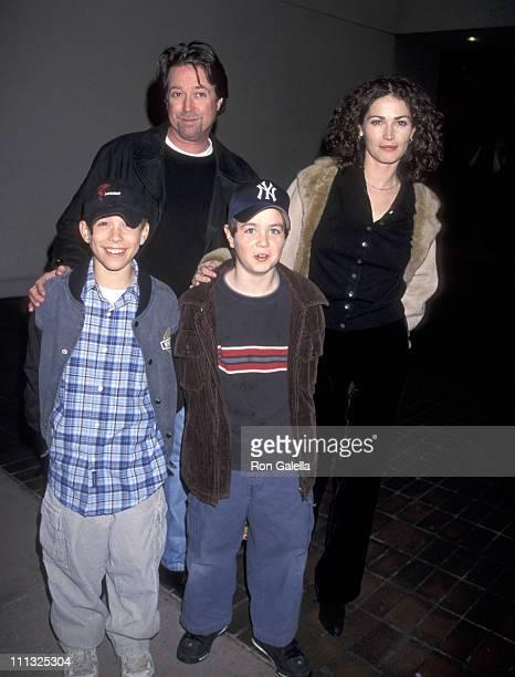 Kim Delaney and son Jack Cortese Alan Barnette and son Cameron Barnett