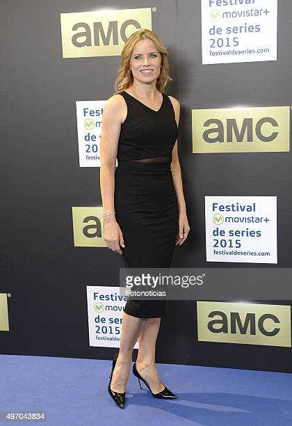 Kim Dickens attends a photocall for 'Fear The Walking Dead' during Movistar Series Festival at Cinesa Proyecciones on November 13 2015 in Madrid Spain