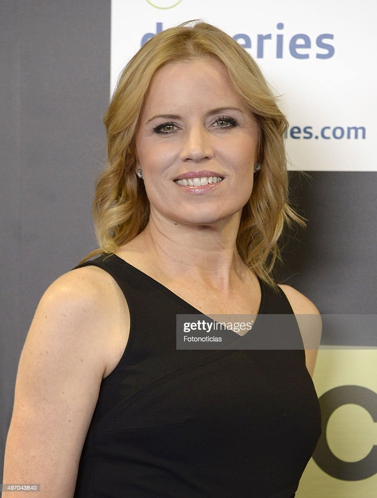 Kim Dickens attends a photocall for 'Fear The Walking Dead' during Movistar+ Series Festival at Cinesa Proyecciones on November 13, 2015 in Madrid, Spain.