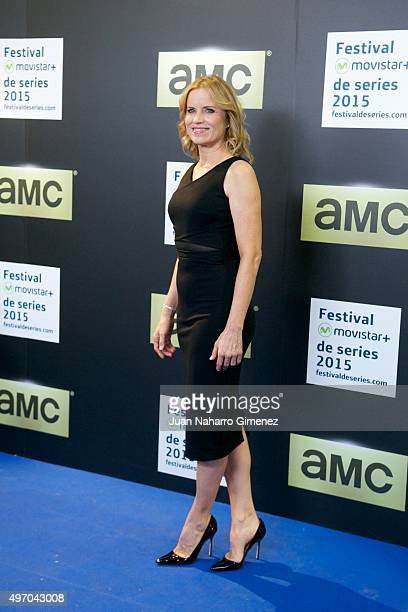 Kim Dickens attends 'Fear The Walking Dead' photocall at Proyecciones Cinema on November 13 2015 in Madrid Spain