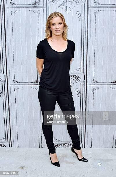 Kim Dickens attends the AOL's BUILD Speaker Series Presents 'Fear Of The Walking Dead' at AOL Studios in New York on August 21 2015 in New York City
