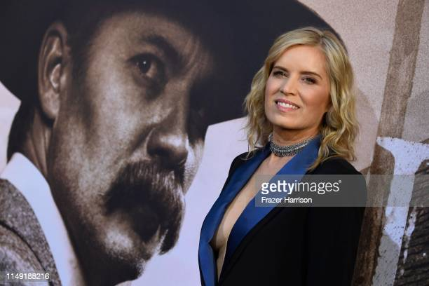 Kim Dickens attends the LA Premiere Of HBO's Deadwood at The Cinerama Dome on May 14 2019 in Los Angeles California