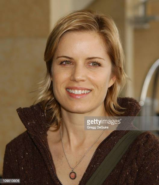 Kim Dickens during 2003 National Cable Telecommunications Assn Press Tour Day Three at Renaissance Hotel in Hollywood California United States