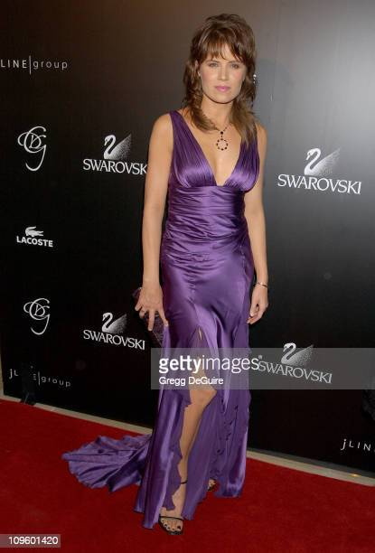 Kim Dickens during 8th Annual Costume Designers Guild Awards Gala Arrivals at Beverly Hilton Hotel in Beverly Hills California United States
