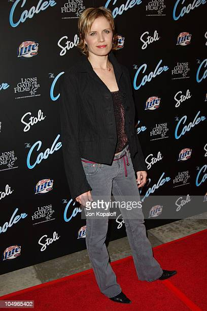 Kim Dickens during 'The Cooler' Los Angeles Premiere at The Egyptian Theater in Hollywood California United States