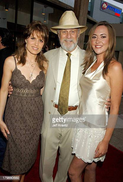 Kim Dickens Gerald McRaney and Parisse Boothe during Deadwood Season Premiere Red Carpet at Cinerama Dome in Hollywood California United States