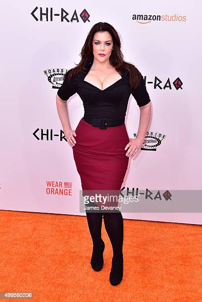 Kim Director attends the 'CHIRAQ' New York premiere at the Ziegfeld Theater on December 1 2015 in New York City