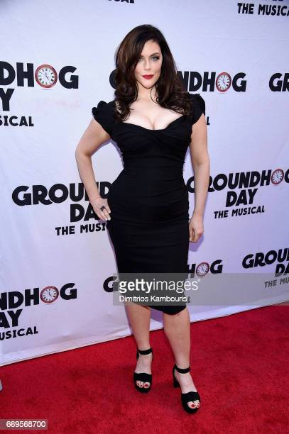 Kim Director attends the Groundhog Day Broadway Opening Night at August Wilson Theatre on April 17 2017 in New York City