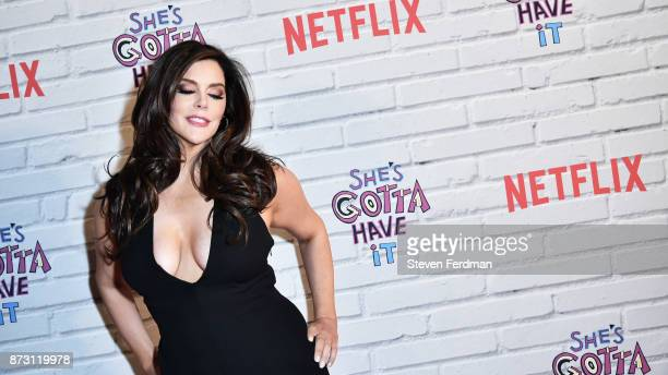 Kim Director attends the Netflix Original Series She's Gotta Have It Premiere at Brooklyn Academy of Music on November 11 2017 in New York City